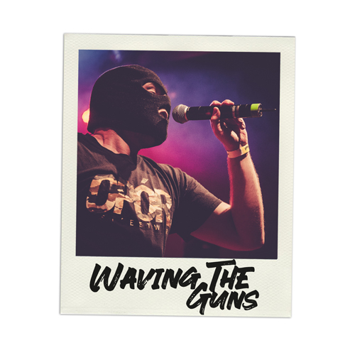 Konzertfoto Waving the Guns live in Kiel - Fabian Lippke Konzertfotograf Kiel