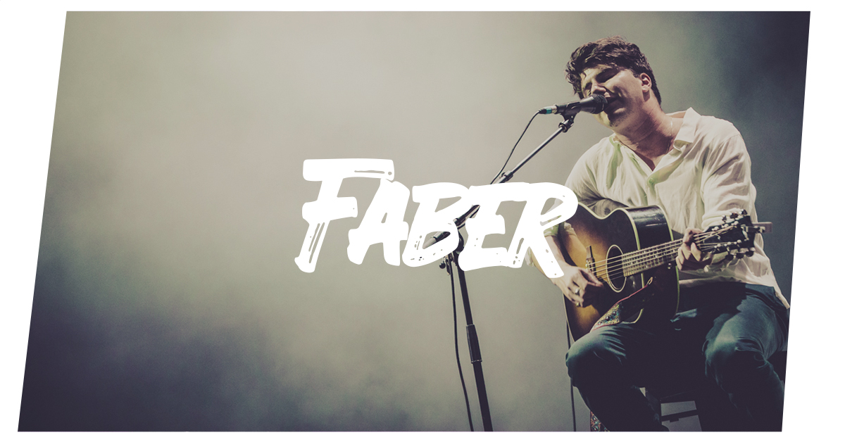 Konzertfotos: Faber live in Hamburg