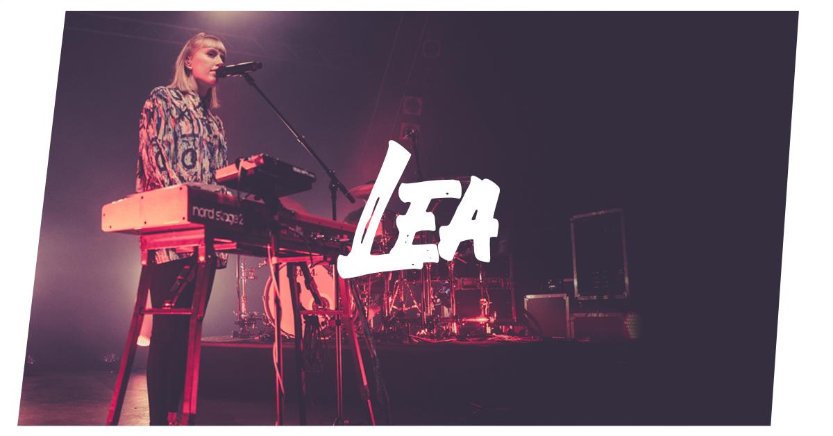 Konzertfotos: Lea live in Kiel